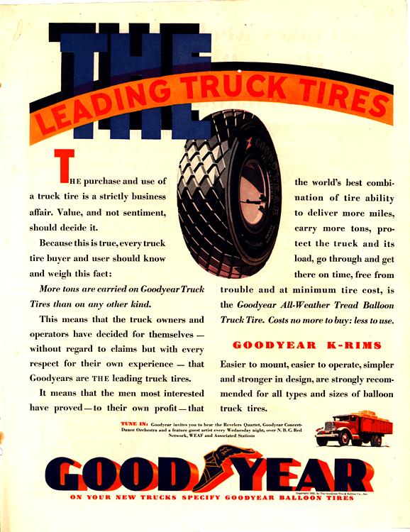 Goodyear Tires 1932 0001