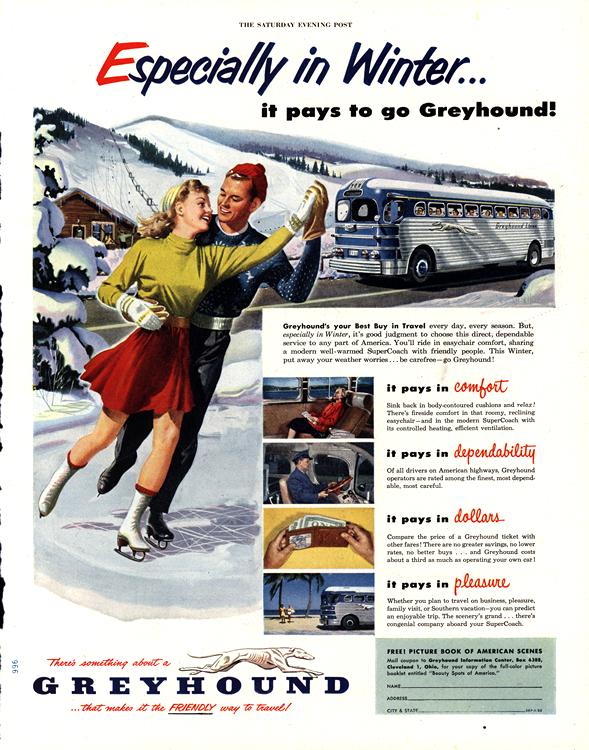 Greyhound Bus 1952 0001