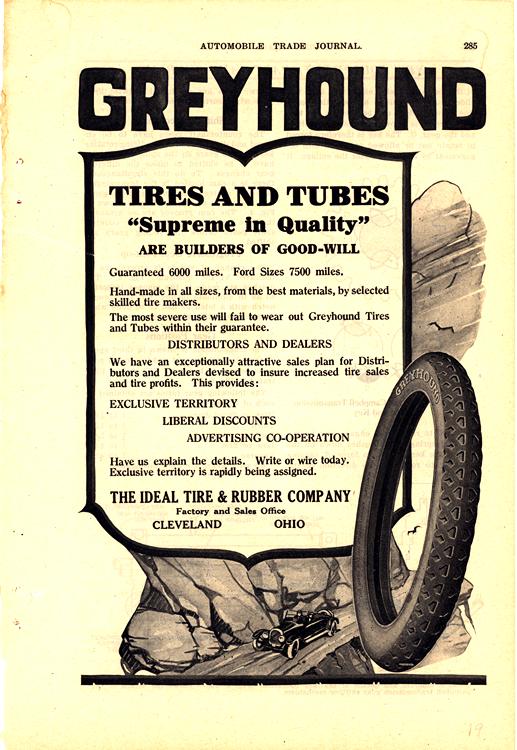 Greyhound Tires 1919 0001