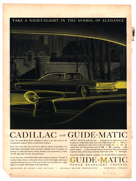 Guide Matic 1960 Cadillac 0043