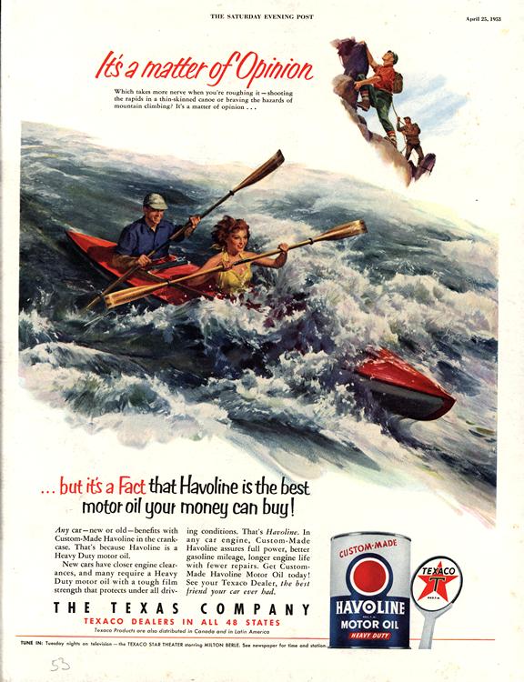 Havoline 1953 Oil 0007