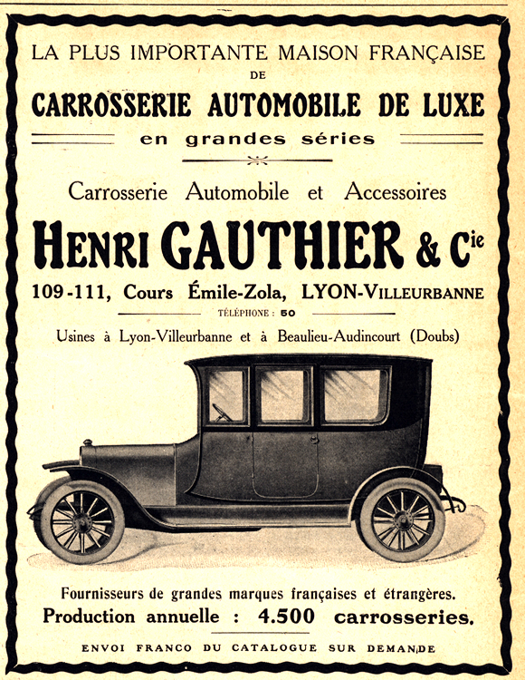 Henri Gauthier 1912 Coachbuilder 0001
