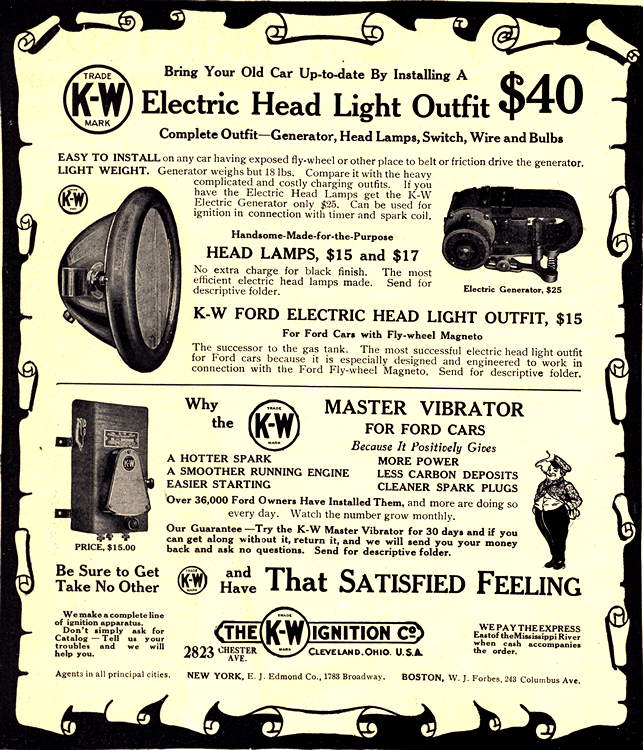 K-W Ignition Co. Electrical Equipment 1913 0001