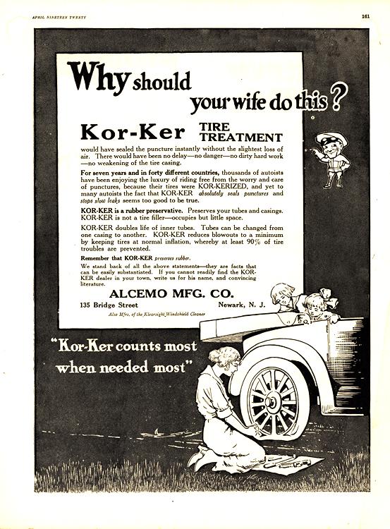 Kor-Ker Tire Treatment Kit 1920 0001