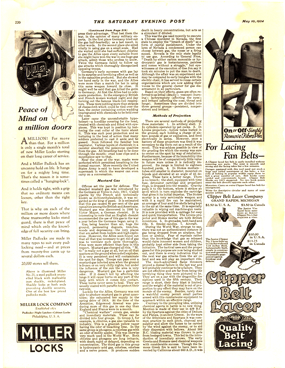 Lacer Clipper Belt 1924 0001
