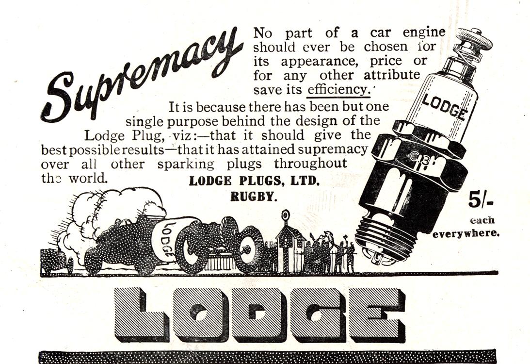 Lodge Spark Plugs 1920 0004