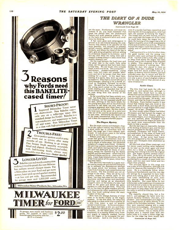 Milwaukee Timer Ford 1924 0001