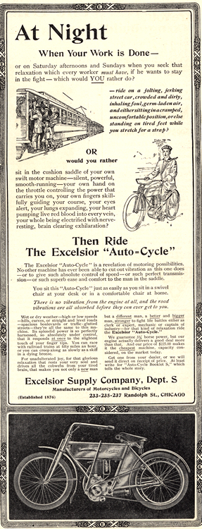 Motorcycles Excelsior 1908 0001