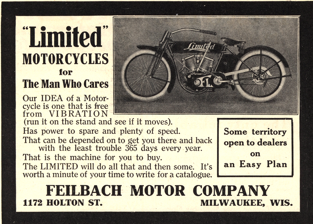 Motorcycles Feilbach Limited 1914 0001