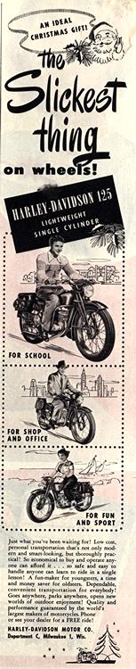 Motorcycles Harley Davidson 1949 0001