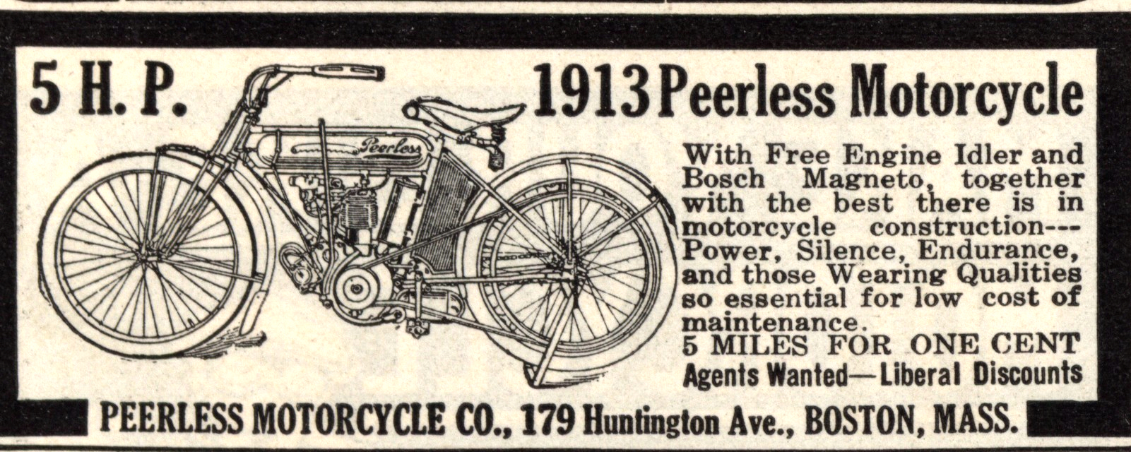 Motorcycles Peerless 1913 0001