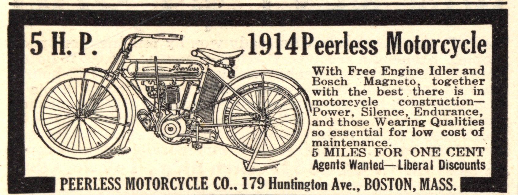 Motorcycles Peerless 1914 0002