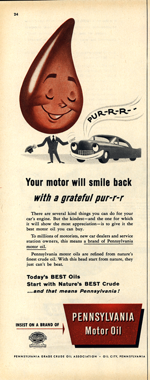 Pennsylvania Motor Oil 1956 0001