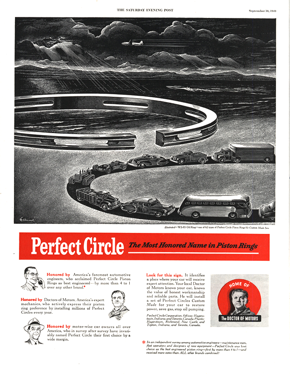 Perfect Circle Piston RIngs 1949 0001