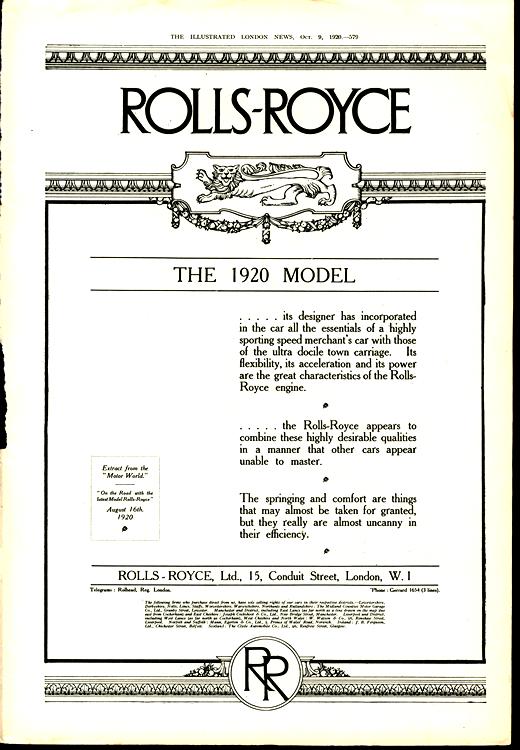 Rolls Royce 1920 0001