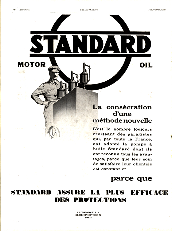 Standard Oil 1928 Fluids - Fuel, Lubricant 0001