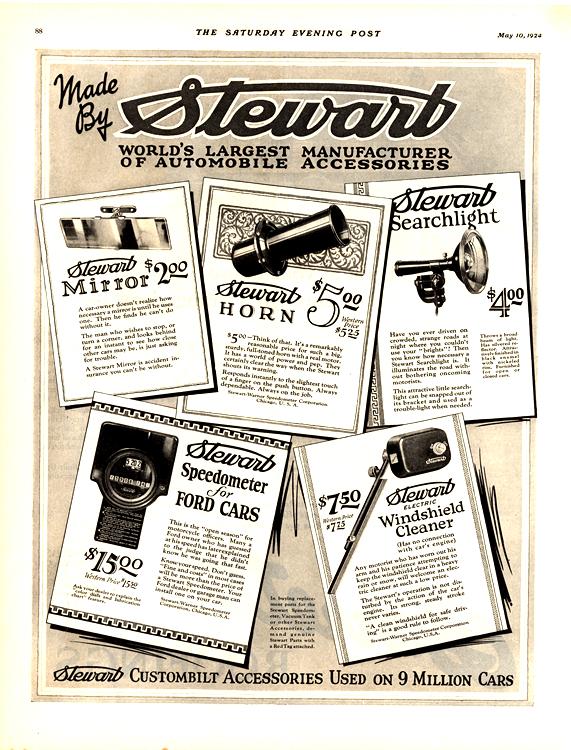Stewart Accessories 1924 0001
