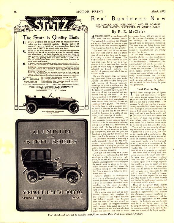 Stutz 1913 Springfield Bodies 0001