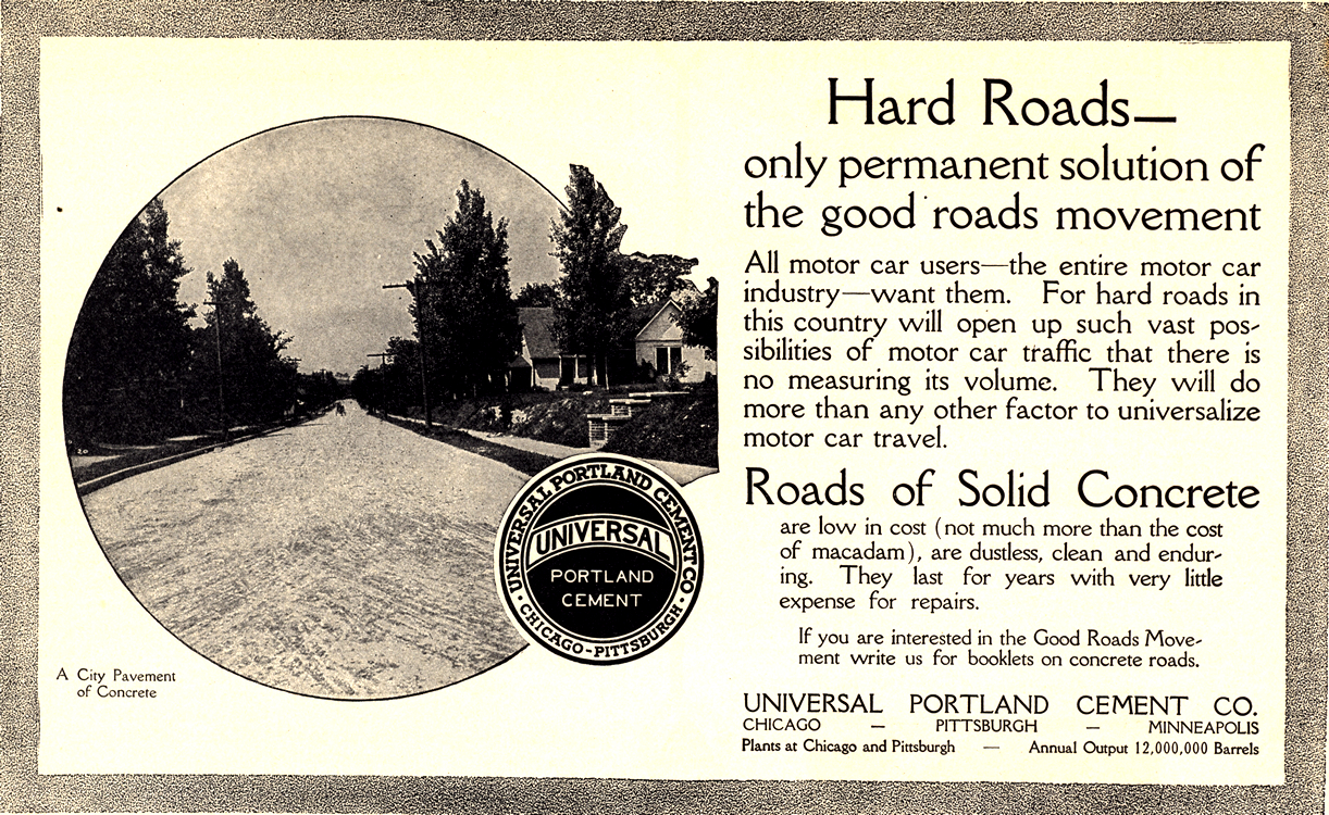Universal Portland Cement Co. Road Construction 1913 0001