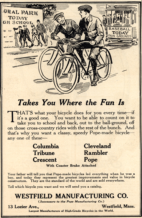 Westfield Bicycle 1916 0001