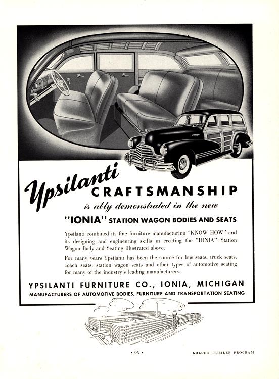 Ypsilanti Upholstery 1946 Pontiac Ionia 0001