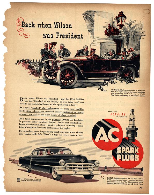 AC Spark Plugs 1952 Cadillac 0003