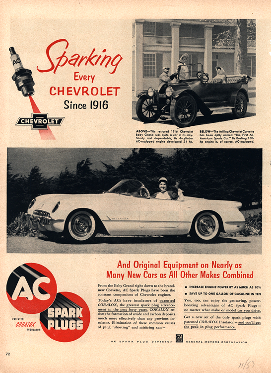 AC Spark Plugs 1953 Chevrolet 0001