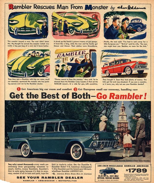 American Motors Rambler 1958 0003n