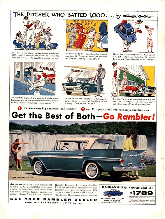 American Motors Rambler 1958 0004n