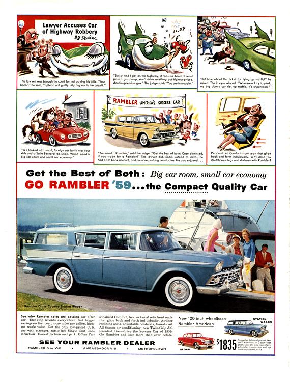 American Motors Rambler 1959 0001n
