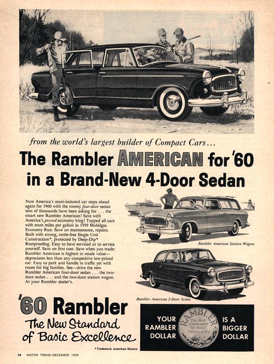 American Motors Rambler 1960 0002n