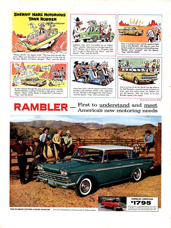 American Motors Rambler 1960 0003n