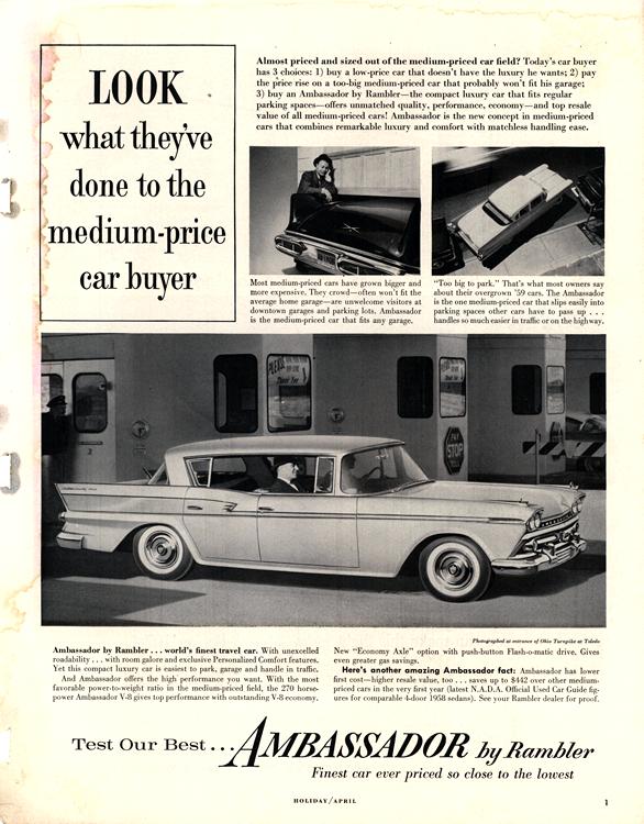 American Motors Rambler 1960 0009n