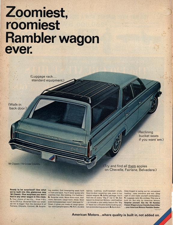 American Motors Rambler 1966 0002n