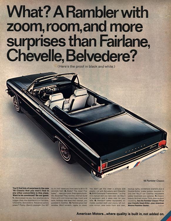 American Motors Rambler 1966 0003n