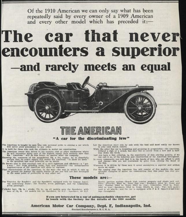 American 1910 UL2 0001