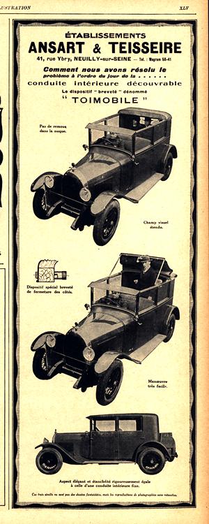 Ansart & Teisseire 1927 Coachbuilder 0001