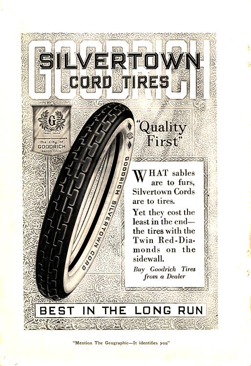 B. F. Goodrich Tires 1919 0001