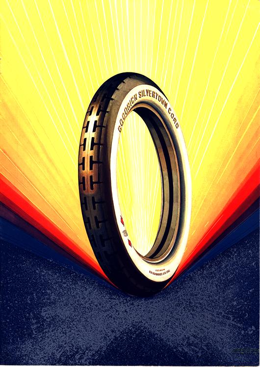 B. F. Goodrich Tires 1922 0001