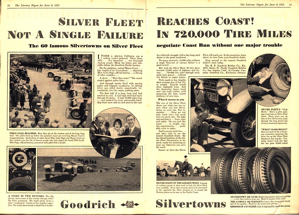 B. F. Goodrich Tires 1929 0001