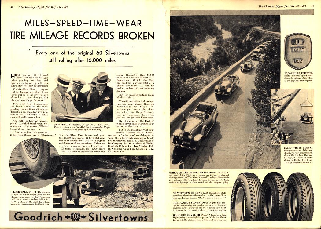 B. F. Goodrich Tires 1929 0008