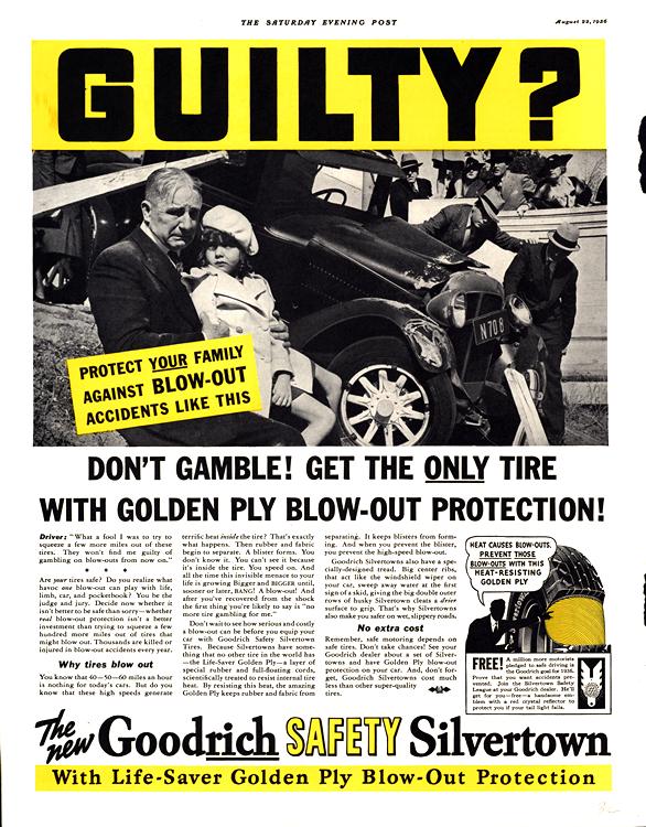 B. F. Goodrich Tires 1936 0001