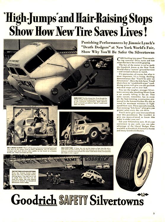 B. F. Goodrich Tires 1940 0001