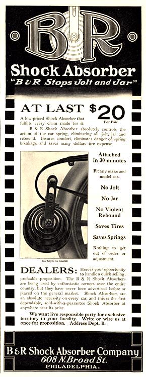 B&R Shock Absorbers 1913 0001