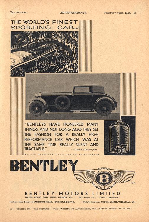Bentley 1930 0001