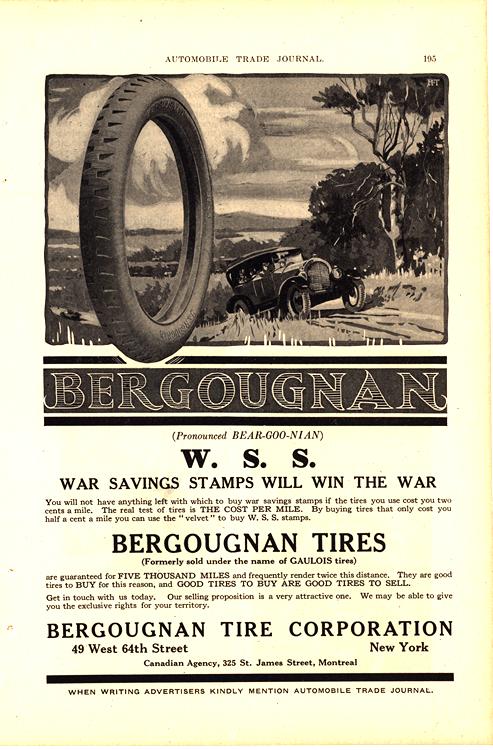 Bergougnan Tires 1918 0002
