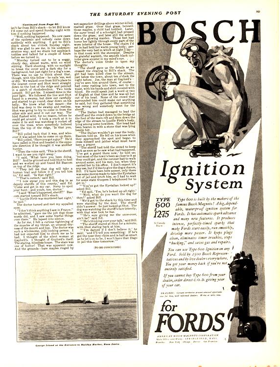 Bosch Ignition 1924 0001