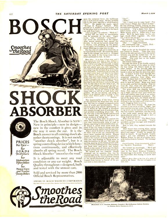 Bosch Shock Absorber 1924 0001