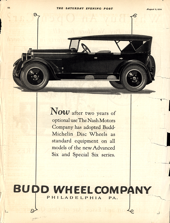 Budd Wheels 1924 0001