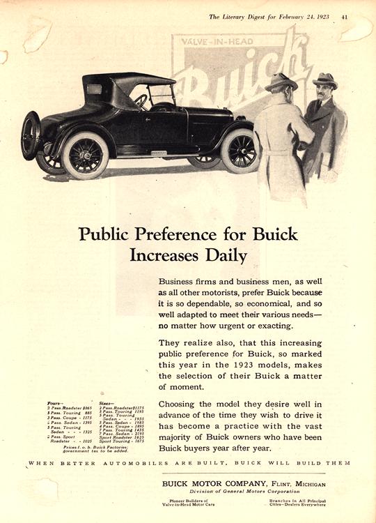 Buick 1923 0012